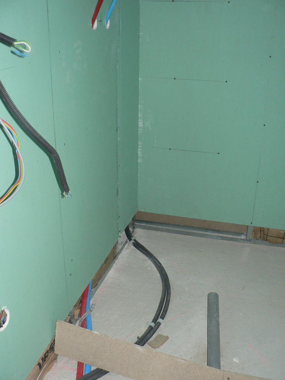 R novation de salle de salle de bain avec une douche l for Salle de bain a l italienne
